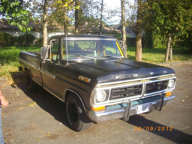 ford truck ranger f100 pickuptruck 100 1972 xlt ec9354