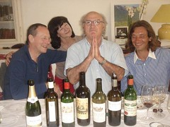 Lunch with Jean-Luc, Murielle and Michel Gracia