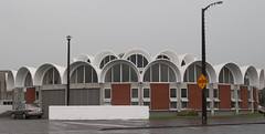Once a Post Office, now a food court (?!?) (See.jay) Tags: newzealand brick architecture concrete arch postoffice modernism arches moderne tres putaruru