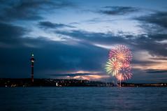 Fireworks (Ville Nikula) Tags: lake water fireworks tampere vesi srknniemi nsinneula ilotulitus jrvi nsijrvi