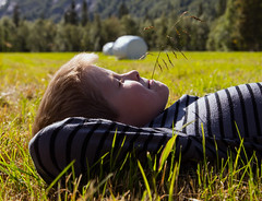 Summers Over (MR.MOBE) Tags: boy summer field grass norway relax sleep meadows straw resting