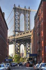 Williamsbourgh Bridge_1 (Javier Surez Gmez (javisuarezgomez@gmail.com)) Tags: nyc travel newyork nikon manhattan viajes will hdr nuevayork d300 javiersurezgmez
