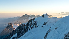 On the Bosses Ridge II (Phahie / Tom Fahy) Tags: morning travel sky cloud mountain snow france alps rock sunrise landscape climb glacier climbing hut alpine mountaineering chamonix montblanc refuge aiguilledumidi weisshorn goter grandcombin aiguilleverte sonydscr1 montmaudit aiguilleduplan lesdroites bossesridge