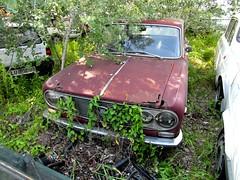 Lancia Fulvia (Alessio3373) Tags: abandoned rust rusted scrap abandonment fulvia lancia rustycars abandonedcar rottame abbandono scrapyards scrappedcar lanciafulvia