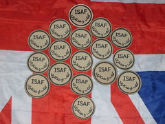 17 isaf badges (militaria collector) Tags: badges isaf isafbadges