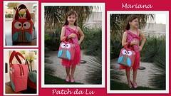 Bolsinha de mo coruja (Patch da Lu) Tags: de coruja patchwork bolsa mo bolsapatchwork maletinha bolsacoruja patchdalu