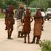 Primeiro pequeno contato com os Himbas