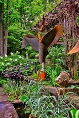 Heron_Sculpture-2 (leostar52 (Rick)) Tags: gardens metalsculpture