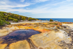 Royal National Park (mraadsen) Tags: cliff seascape landscape flickr hiking shoreline sydney australia newsouthwales bundeena royalnationalpark canoneos550d 1585mmf3556isusm