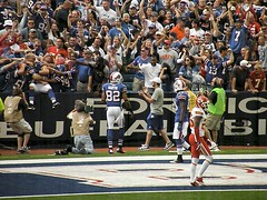 Scott Chandler Leaps Into the Stands After a Touchdown (MattBritt00) Tags: ny newyork sports football buffalo buffalobills bills stadium nfl kansascity chiefs afc americanfootball footballfans orchardpark footballstadium kansascitychiefs ralphwilsonstadium nationalfootballleague scottchandler touchdowncelebration americanfootballconference ruvellmartin