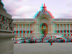 Grand Palais Paris 3D (wim hoppenbrouwers) Tags: paris 3d anaglyph stereo grandpalais