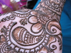 Henna mendhi (M eyesonly) Tags: red hand tradition henna mehndi mendhi