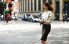 (WONDERFUL LEATHER) Tags: sexy leather skirt jupe wallpapers alexa chung cuir