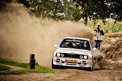Young & Wild (Getunt [Rallyshot.com]) Tags: auto car sport rally dirt bmw vehicle dust m3 nederlands rallye sideways e30 motorsport 2012 niederlande hellendoorn