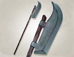 if402820 bardish latex weapon (penningp) Tags: medieval gn larp mousse arme polearm wwwlatexweaponsca bestarius bardishe