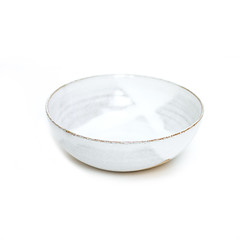 Rustic Dip Bowl Large Snow White (nomliving.com) Tags: cooking cakes kitchen ceramic rustic mini dishes bowls quiche bakeware nomliving wwwnomlivingcom flutedtartletmoulds