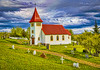 Oddi Church and Cemetery (William Horton Photography) Tags: church iceland south oddi southwesticeland