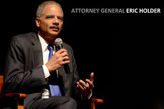 Attorney General Eric Holder Speaks at Fall Convocation (Phillip Waller) Tags: ford college mississippi for eric university performing arts ole center sally years 50 miss gertrude integration holder honors mcdonnell barksdale