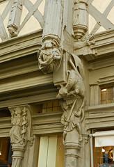 2012.05.25.022 ANGERS - La maison d'Adam (alainmichot93 (Bonjour  tous)) Tags: france architecture 49 maison rue immeuble 2012 angers maineetloire colombages paysdeloire