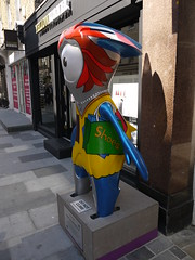 Shopper Mandeville 2 (Worthing Wanderer) Tags: summer london sunny august olympicgames london2012 mayoroflondondiscoverystrolls