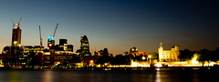 City Panorama (Usuf Islam) Tags: street uk nightphotography travel bridge england urban panorama colour building london tower art water thames modern clouds canon river landscape photography europe cityscape nightscape capital wideangle dungeon athens 7d shutter various shard gherkin starry embankment atmospheric toweroflondon archtecture cityoflondon lightroom londonskyline