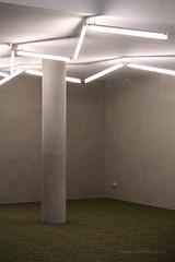 The Loneliest Number (Adam Dimech) Tags: lighting light building architecture australia melbourne victoria fluorescent zigzag ltu dpi latrobe bundoora latrobeuniversity departmentofprimaryindustries agribio centreforagribioscience