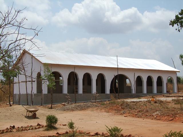 new classrooms exterior