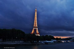 Paris in the blue hour (Rex Montalban) Tags: paris france europe eiffeltower bluehour nothdr rexmontalbanphotography