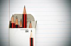 Fresh Start (snapclicktripod) Tags: pencils paper beginning freshstart ourdailychallenge
