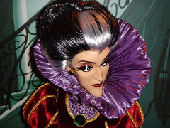 Lady Tremaine Limited Edition 17'' Doll - First Look - Deboxing - In Backing Diorama - Closerup Front View #2 (drj1828) Tags: doll cinderella limitededition disneystore 17inch deboxing ladytremaine