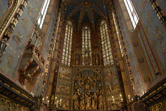 20120927 Basilica of the Virgin Mary, Cracow Polen   26 (ellapronkraft) Tags: polen cracow middleages moyenage thevirginmary gothicart basilicaof