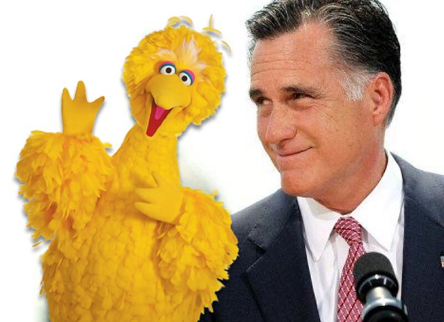 Mitt Romney Loves Big Bird