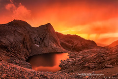 Kaweah's Fury (landESCAPEphotography | jeff lewis) Tags: california ca longexposure travel sunset usa lake mountains reflection jeff nature water clouds sunrise canon landscape photography nationalpark unitedstates hiking scenic