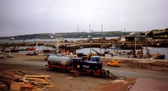 Milford Haven, 2nd July 1992 (elkemasa) Tags: 1992 milfordhaven shunter