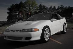 Clean Talon (GTB Photos) Tags: show car wisconsin o turbo talon edge burnout dells 2012 automotion