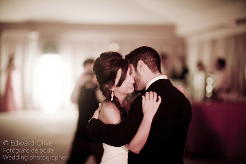 Baile nupcial - Edward Olive fotografo para bodas, primer baile de los novios first dance in wedding