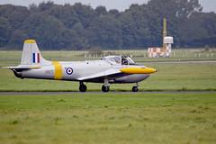 Hunting Jet Provost T.4 (Chris McLoughlin) Tags: aircraft a77 jetaircraft raflintononouse sigma150500mm xr673 gbxlo chrismcloughlin sonyslta77 huntingjetprovostt4