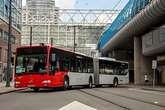 TCR Mercedes Benz bus 499, Carrascoplein (Amsterdam-Sloterdijk) (Don Maskerade) Tags: tcr mercedes benz o530g bus 499 citaro evenementenvervoer amsterdam sloterdijk carrascoplein articulated geleed openbaar vervoer public traffic transport transportation shuttle curve