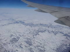 Canada. Flying over northern part of Quebec province. (denisbin) Tags: canada snow glaciers muntains quebec