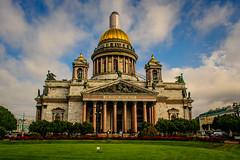 San Isaac (Jesús Vegue) Tags: rusia báltico crucero catedral sanpetersburgo sanktpeterburg ru