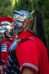 Italica (JLCB PHOTO) Tags: roma romanos senadores gladiadores esclavos nios ancianos casco rojo italica anfiteatro fotoquivir 16