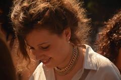 shy (Giulia Maria Pontesilli) Tags: shy friend girl beautiful gold golden light