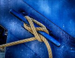 Estacha (candi...) Tags: cuerda estacha nudo barco amarre marinero sonya77