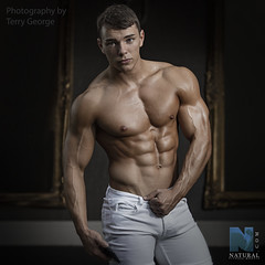 Elliot Robinson NFM (TerryGeorge.) Tags: elliot robinson nfm natural fitness models abs six pack toned athletic male body nude shirtless naked underwear beautiful men man sexy