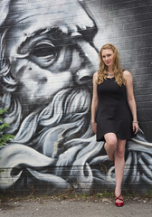 Stephanie (sspike@rogers.com) Tags: stephanie rossi daughter graffiti alley canon 5d2