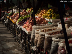 Nuts and fruit (David R. Crowe) Tags: angiosperm angiosperms floweringplant fruit nature plant repetition selling jiuzhaigou sichuan china