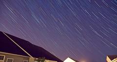 Star Trails (ganukuttan) Tags: nightsky earthrotation northstar startrails longexposure