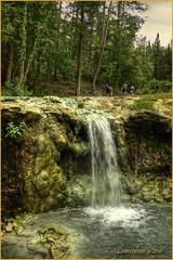 Bagni San Filippo (SI) (leon.calmo) Tags: leoncalmo canon eos5d terme bagnisanfilippo cascata valdorcia bosco toscana paesaggio hdr