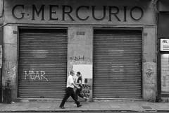 MOAR (@ntomarto) Tags: antomarto ntomarto italia italy sicilia sicily palermo moar serrande showcase shop negozio chiuso closed mercurio urban urbano street strada citt city citylife bw biancoenero blackandwhite