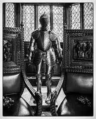 Suit of armour in the Great Hall Speke Hall (Dave Moseley Photography) Tags: nationaltrust spekehall tudorhouse oldhouse listedbuilding liverpool speke edwardnorris norris tudortimberframedmanorhouse davemoseleyphotography hstorichouses merseyside